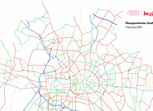 Übergeordnetes Straßennetz - Planung 2025