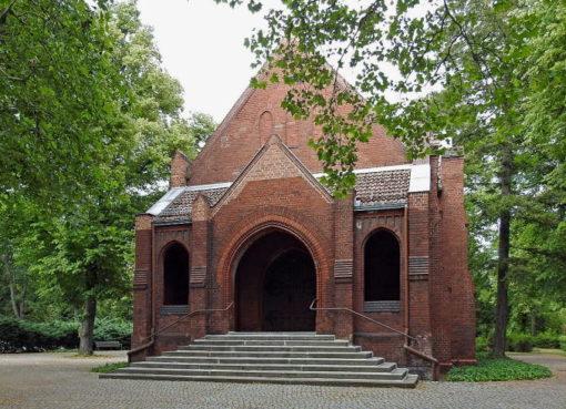 Friedhofskapelle auf dem Friedhof Pankow III