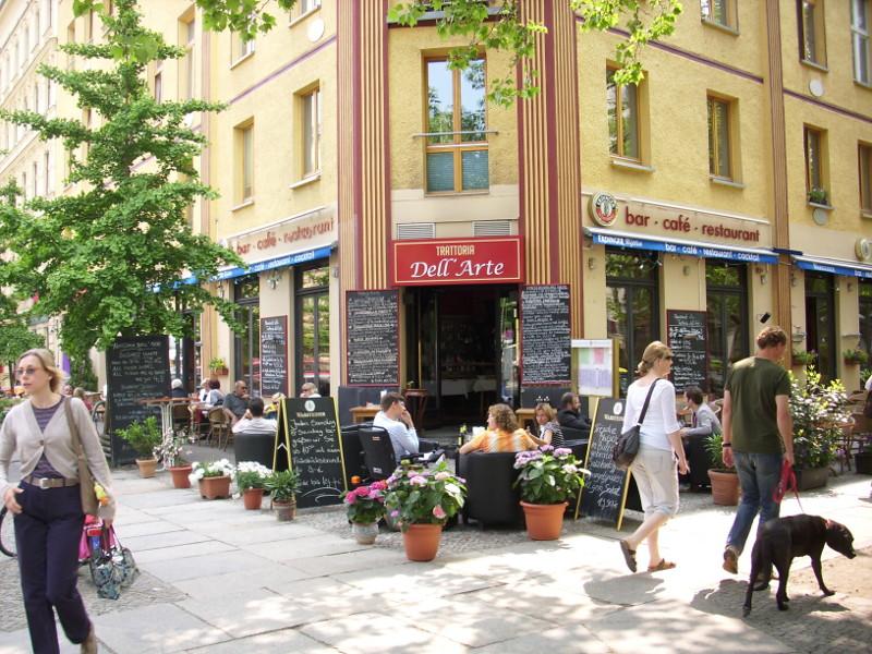 Cafe am Prenzlauer Berg