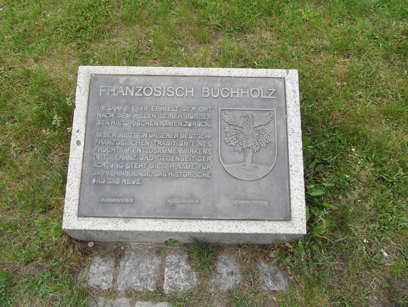 Gedenkstein-Buchholz