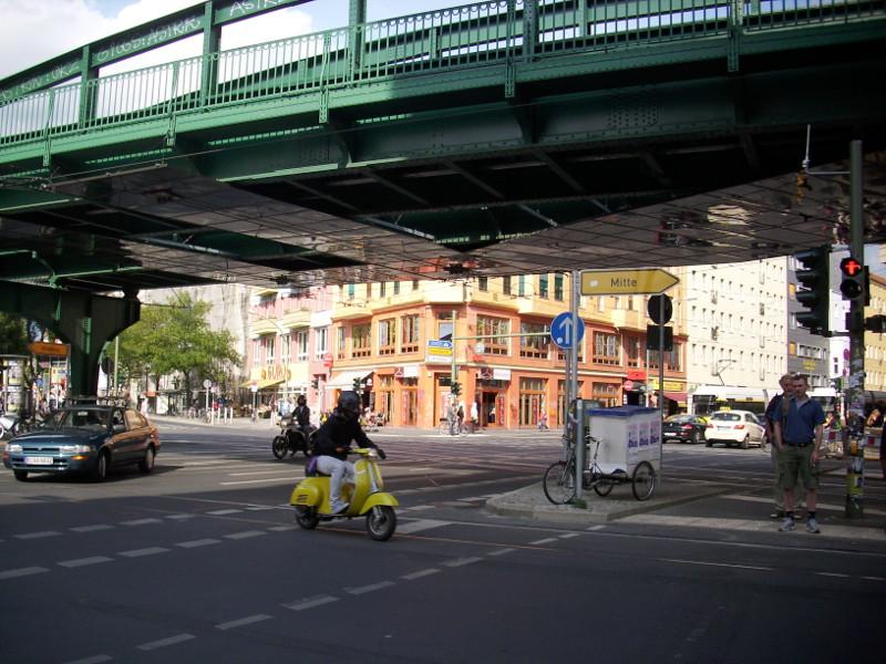 Kreuzung Eberswalder Straße / Schönhauser Allee