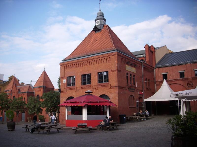 Hof der Kulturbrauerei
