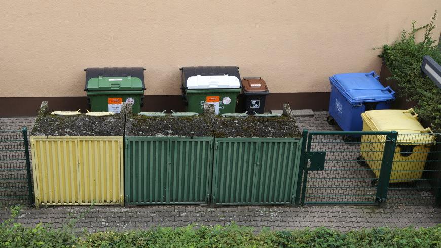 Abfalltrennung in Berlin: Glas, Bioabfall, Papier, Wertstoffe und Restmüll - Foto: m/s