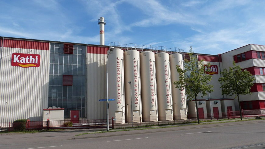 KATHI Rainer Thiele GmbH, Berliner Straße, Halle (Saale)  Foto: Catatine CC BY SA-4.0