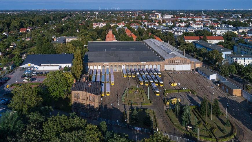Straßenbahnbetriebshof Niederschönhausen