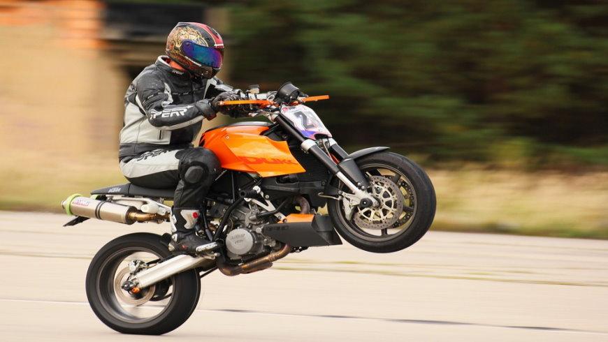 Motorrad-Rennen