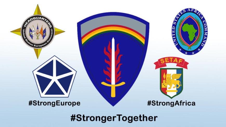 Zusammenlegung der Hauptquartiere der U.S. Army Europe und der U.S. Army Africa - Grafik: Press Release/Twitter Inc.