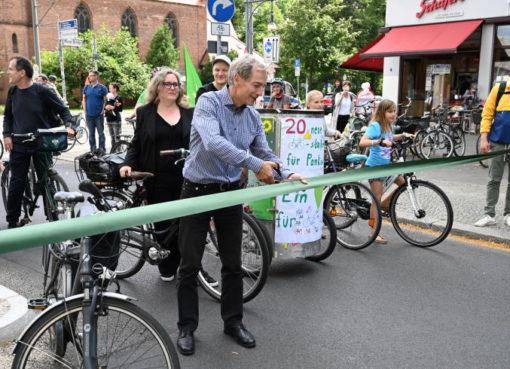 Ossietzkystraße am 20.7.2020