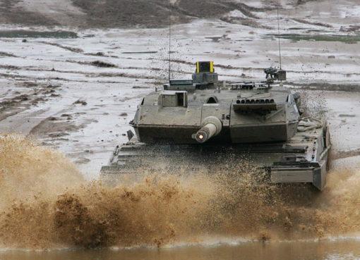 Kampfpanzer Leopard 2 A6