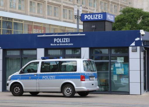 Polizei Berlin: Wache am Alexanderplatz