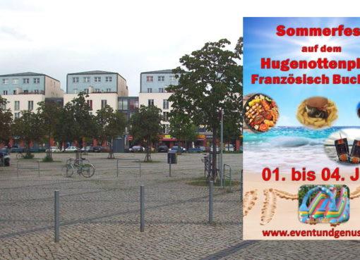 Sommerfest auf dem Hugenottenplatz