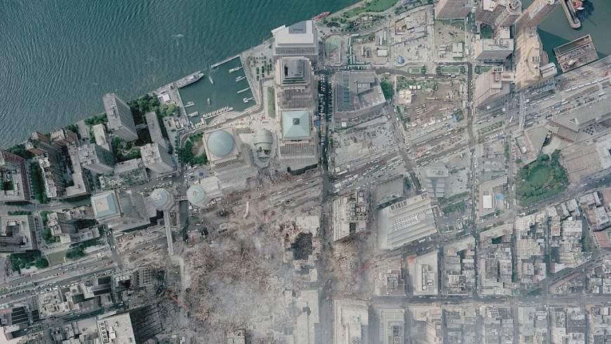 New York: Ground Zero am 23.9.2001