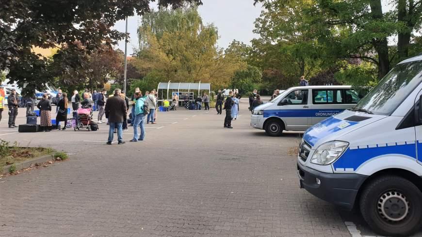 Verbundeinsatz gegen Straßenhandel in Reinickendorf