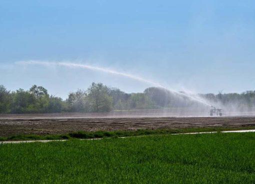 Künstliche Bewässerung in der Landwirtschaft